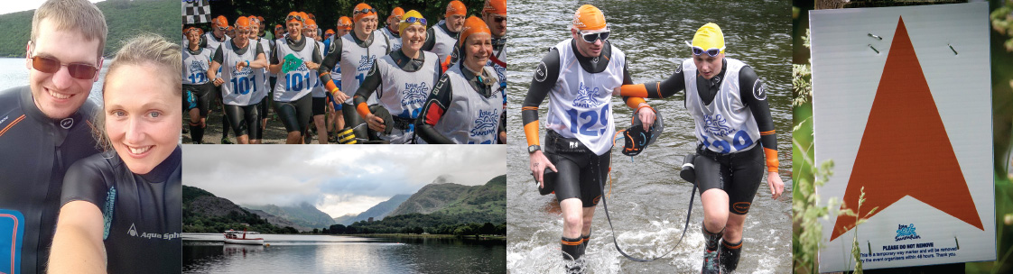 Love Swimrun Llanberis, north wales
