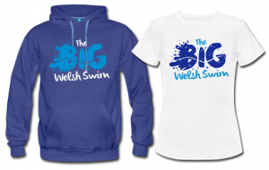 Big welsh swim tshirt and hoodie