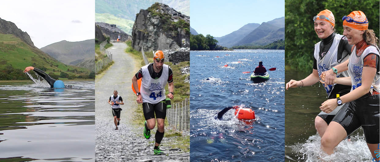 swim and swimrun training day