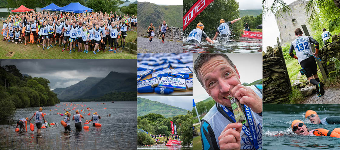 Love SwimRun Llanberis 2017 report montage